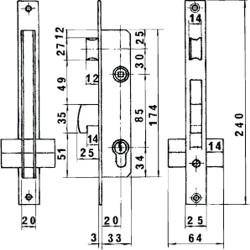 Tapajuntas Adhesivo Para Moquetas Aluminio Roble   98,5 cm.