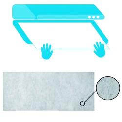Tapajuntas Adhesivo Para Moquetas Metal Sapeli   82,0 cm.