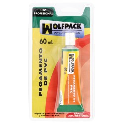 Pegamento PVC  Wolfpack    60 ml.