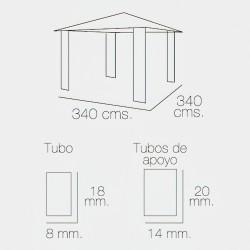 Enrejado Triple Torsion 31/  50 cm. Rollo 50 Metros Uso Domestico