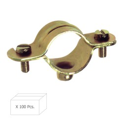 Abrazadera Metalica M-6   20 mm. (Caja 100 piezas)