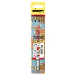 """Numero Latón """"9"""" 10 cm. con Tornilleria Oculta (Blister 1 Pieza)"""